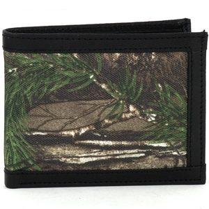 REALTREE RFID Bifold Wallet With Flap Over ID W.